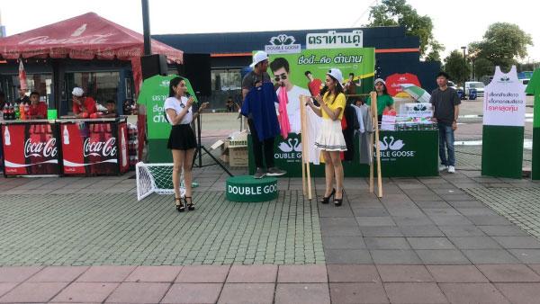 บูธ-Road-show-event-Decorate--ห่านคู่2