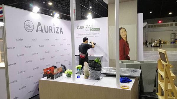 รับจัดบูธแสดงสินค้า-AURIZA1