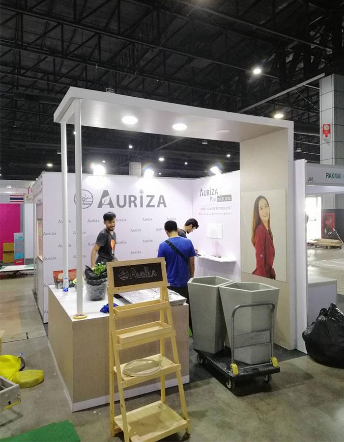 รับจัดบูธแสดงสินค้า-AURIZA2