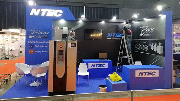 รับจัดบูธแสดงสินค้า-NTEC1