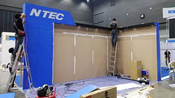 รับจัดบูธแสดงสินค้า-NTEC3