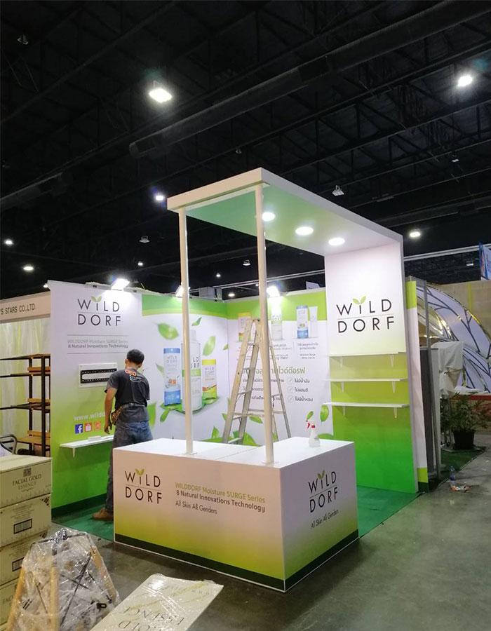 รับจัดบูธแสดงสินค้า-WILD-CORF2