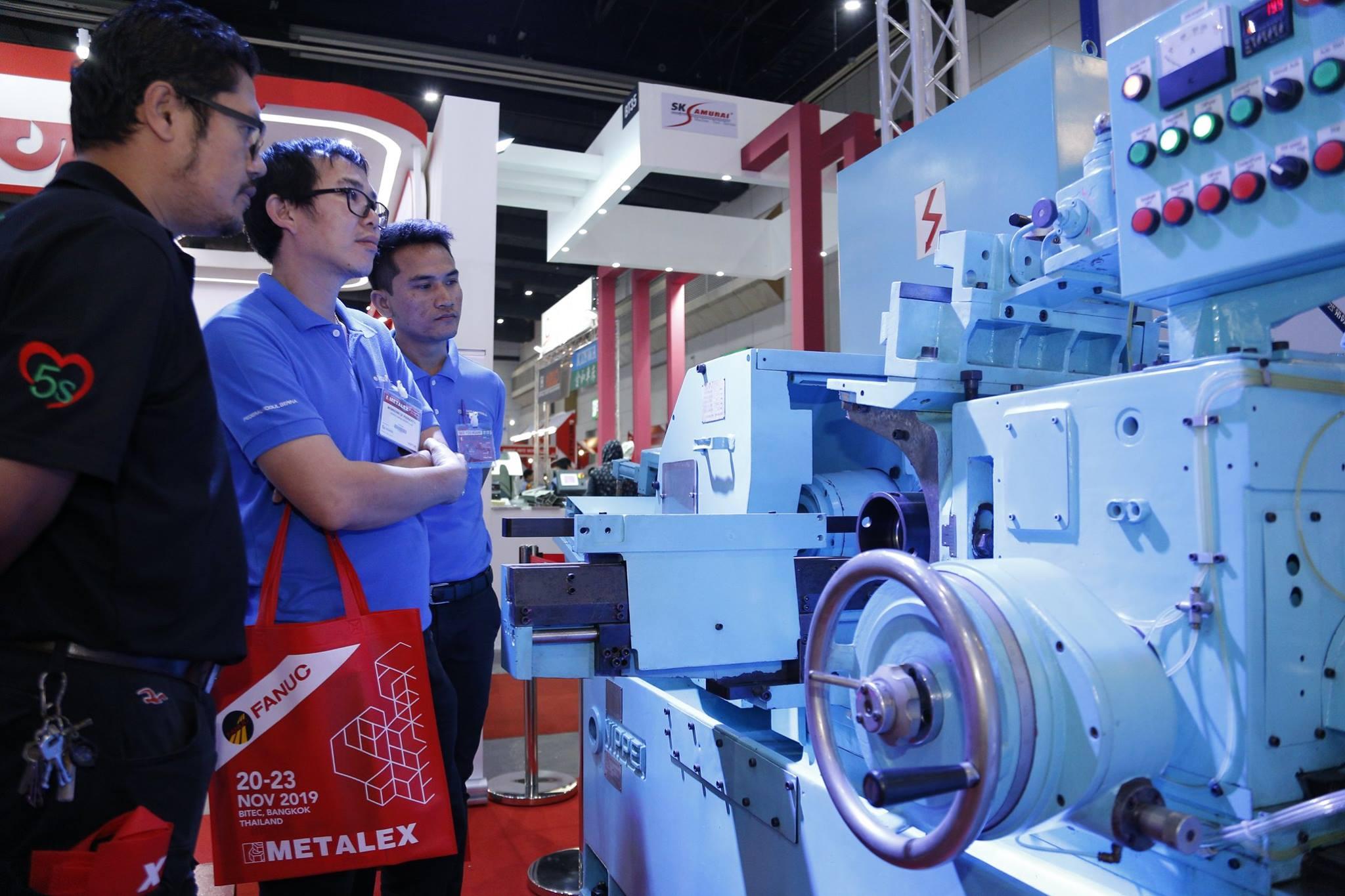 geddesign รับออกแบบบูธแสดงสินค้างาน METALEX 2020