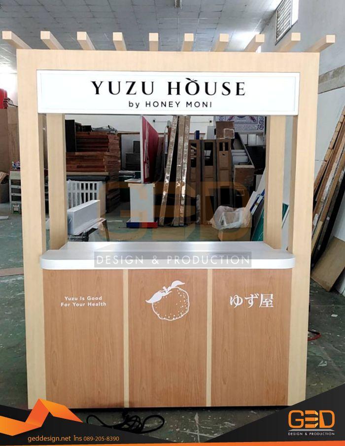 รับออกแบบตกแต่งในร้าน Kios Yuzu @ Siam paragon